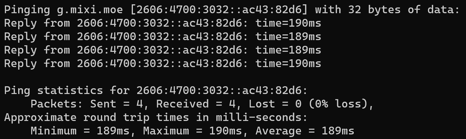 博客速度测试